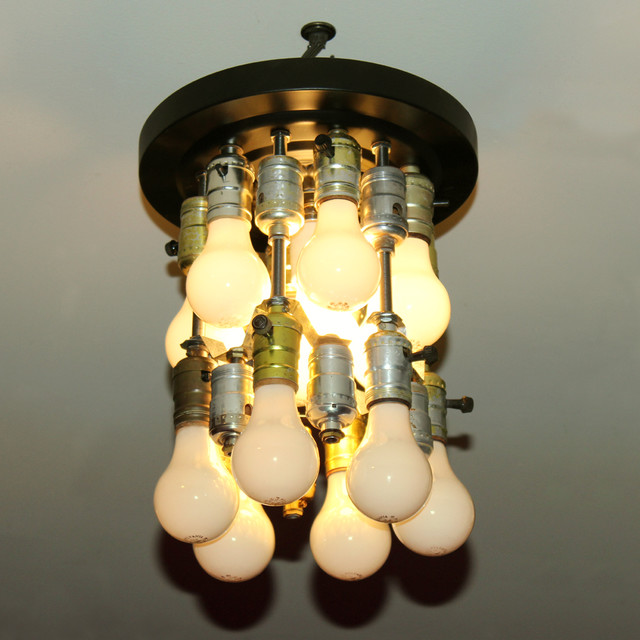 Socket to Me - eclectic - ceiling lighting - portland maine - by ... - Eclectic Ceilings