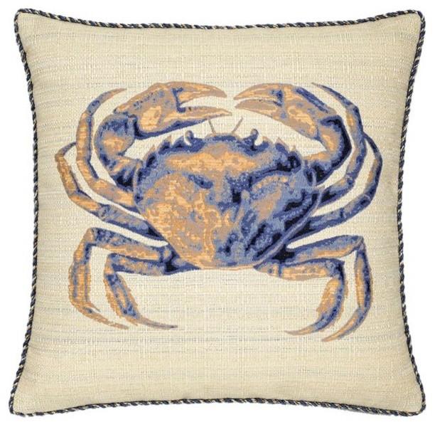 Blue Crab Outdoor Pillow outdoor-pillows