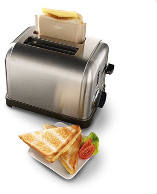 Toaster Grilled Cheese Bags, Set of 3 contemporary