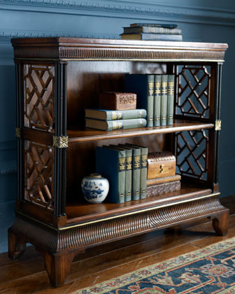 John-Richard Collection - Lattice Bookcase asian-bookcases
