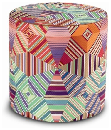 Noceda Cylindrical Pouf Ottoman modern-footstools-and-ottomans