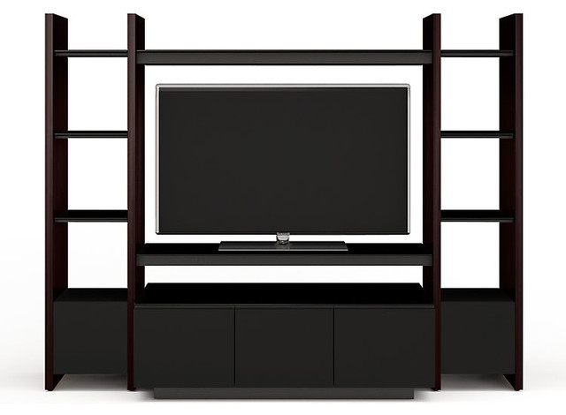 Semblance Home Theater Package 5423TH, Espresso contemporary-entertainment-centers-and-tv-stands