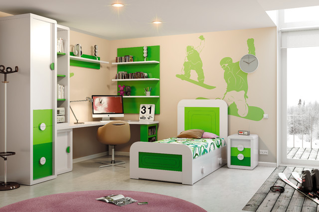 Macral Design. Kids and young bedroom contemporary-kids-beds