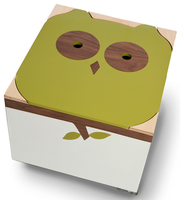 Noah Owl Toy Box - Contemporary - Kids Storage Benches And Toy Boxes ...