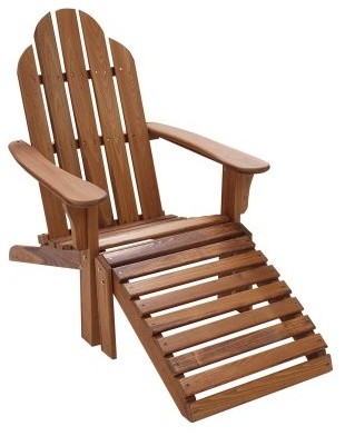 Great American Woodies Vintage America Cypress Adirondack Chair modern-living-room-chairs