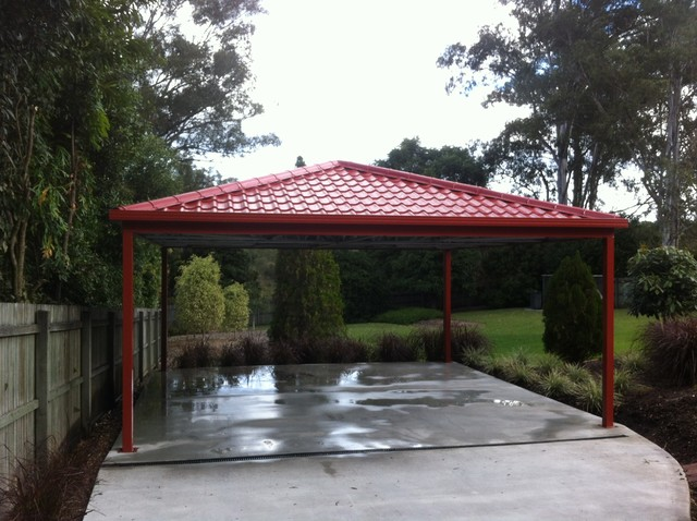 Metal Carport Roofing Modern Melbourne By Metile