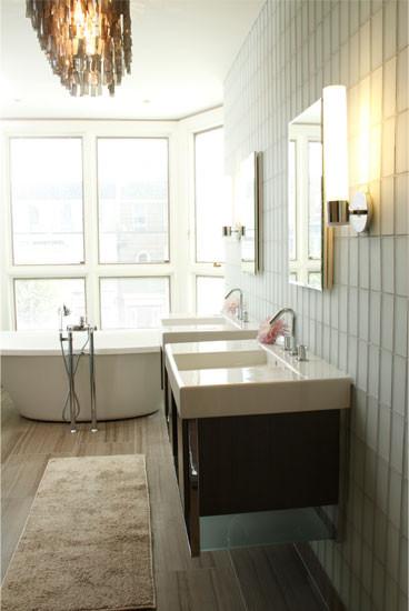 Backer Residence contemporary-bathroom