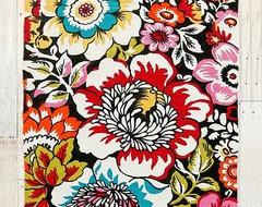 Big Garden Printed Rug eclectic-rugs