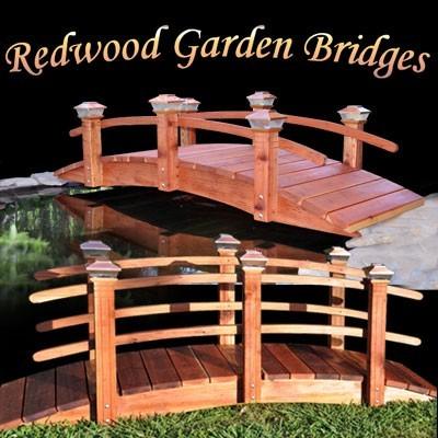 Garden Bridge contemporary-outdoor-decor