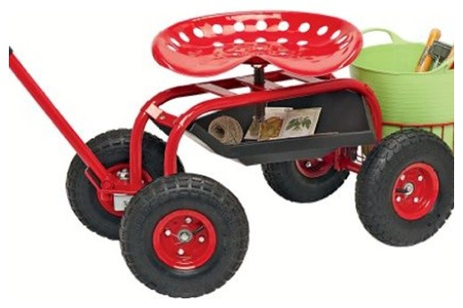 Garden Tractor Scoot traditional gardening tools