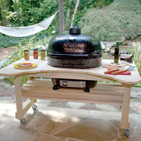 Outdoor Kitchens, Grills & Smokers contemporary-outdoor-grills