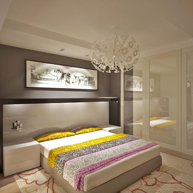 Queen's contemporary-bedroom