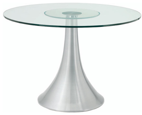 Dining Table Sienna Modern Round Dining Table