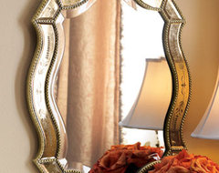 Felicie Oval Mirror traditional-mirrors