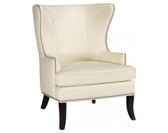 Grant Wing Back Chair traditional-accent-chairs