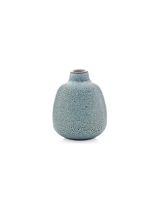 Bud vase in cool lava - Heath Ceramics new vase collection takes inspiration from the original Heath budvase designed in the 1950s, yet stands out for its refined, contemporary lines. Stunning with or without flowers, as a family, mixed and matched or on their own.