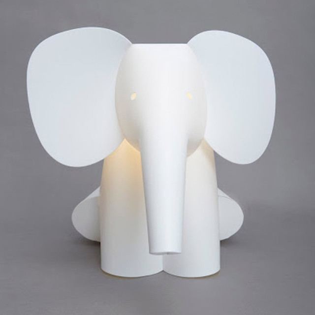 elephant light modern novelty lighting by the white company. Black Bedroom Furniture Sets. Home Design Ideas