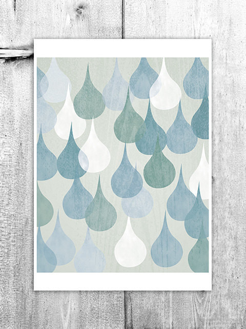 Houzz Guest Picks: Shower your home with raindrop-inspired art & accessories