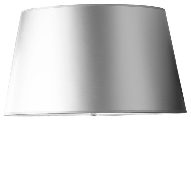 19 Inch Silver Metallic Paper Shade