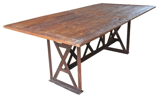 dining table industrial dining tables san francisco by sierra