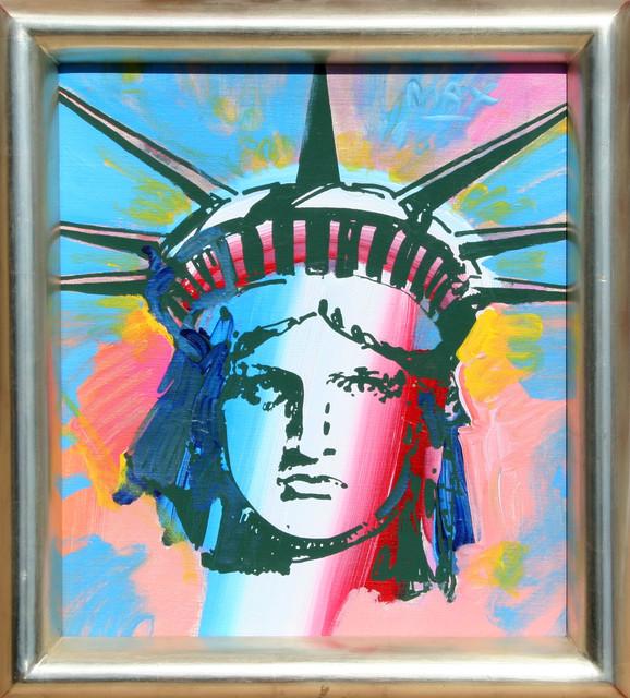 Peter Max, Liberty Head, Painting modern-artwork