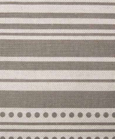 Stripedot Fabric in Dove by Studio Bon modern fabric