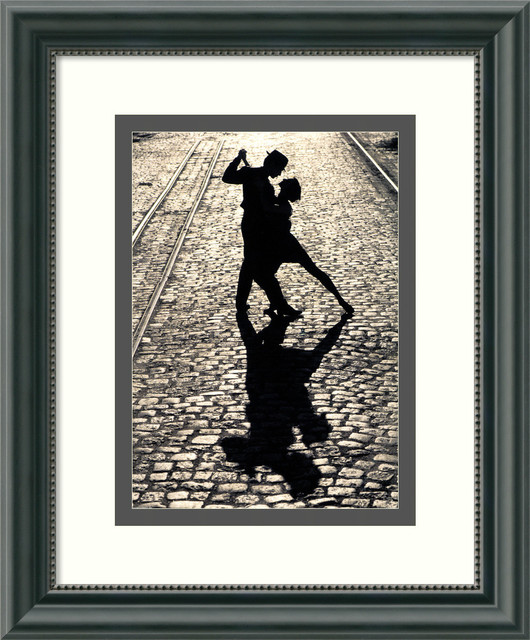 The Last Dance Framed Print traditional-prints-and-posters