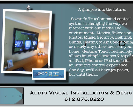 TrueCommand....  It's a whole new way to control your world. - Savant's TrueCommand provides homeowners the ability to select services (Security, Cable, HVAC, Lighting, etc.) with simple to see, easy to understand and intuitive On Screen Icons.