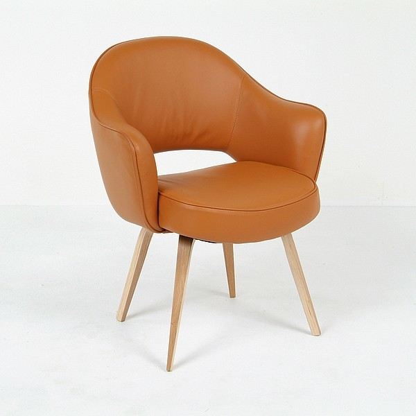 Saarinen executive arm chair reproduction modern dining chairs by modern classics furniture - Saarinen chair reproduction ...