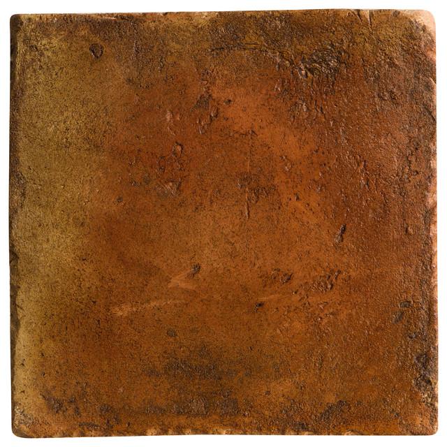 Spanish Handmade Terracotta Tile - Mediterranean - Wall And Floor Tile ...