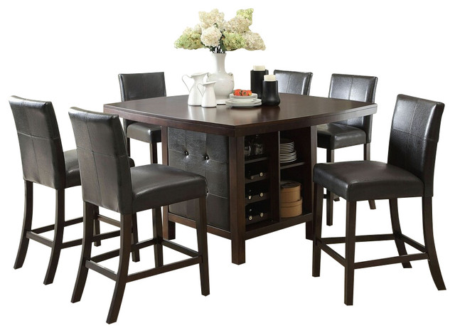 counter height dining table set contemporary dining sets by amb