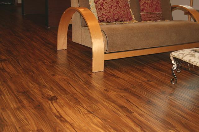 Acacia laminate natural hand scraped traditional for Laminate flooring mn