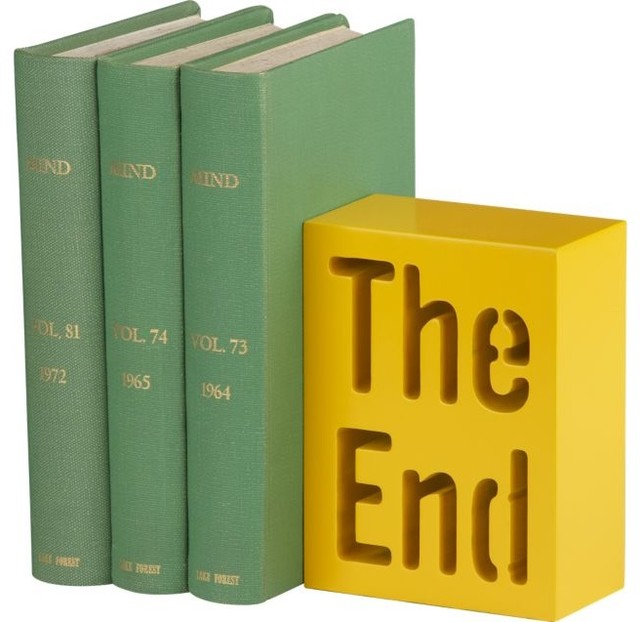 The End Bookend contemporary accessories and decor