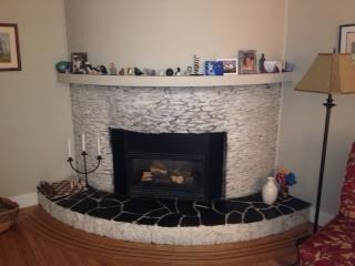 Ideas to reface/ alter convex fireplace