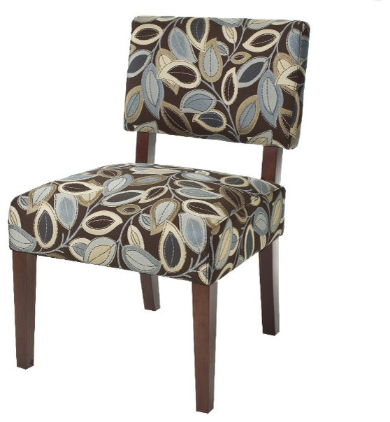 Mitchell Armless Chair transitional-living-room-chairs