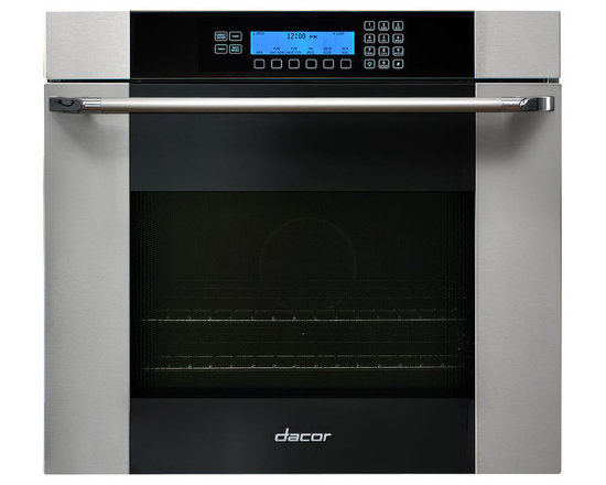 "Dacor Discovery 27"" Single Wall Oven, Stainless W/ Black Glass 