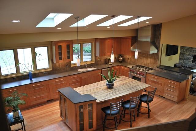 Raleigh Hills contemporary-kitchen
