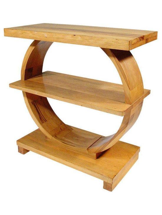 Art Deco Wood Table by Brown Saltman - Dimensions 25.0ʺW × 12.0ʺD × 26.0ʺH