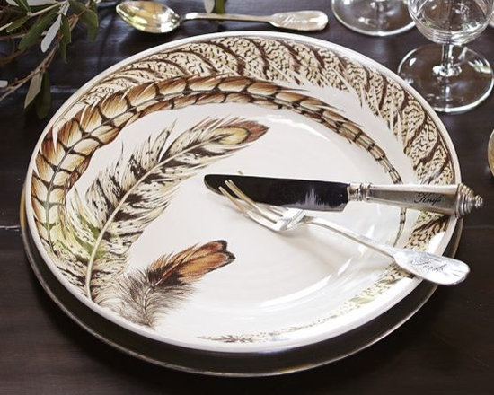 Feather Grand Plates | Pottery Barn -