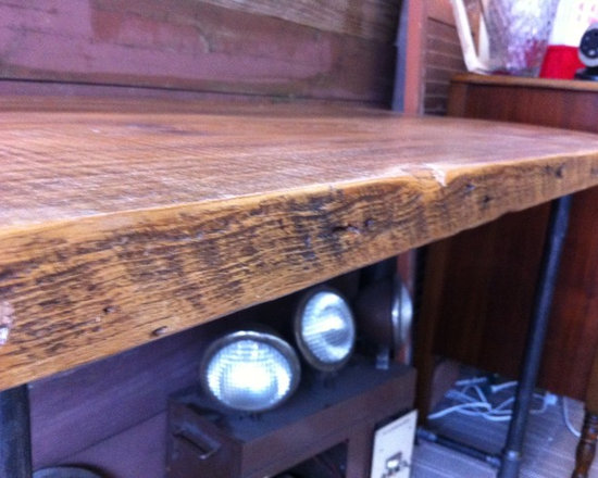 Reclaimed Wood Desk - Brent Hollenberg