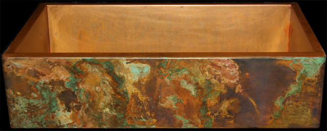 Copper farmhouse sink by rachiele kitchen sinks other for Rachiele sink complaints