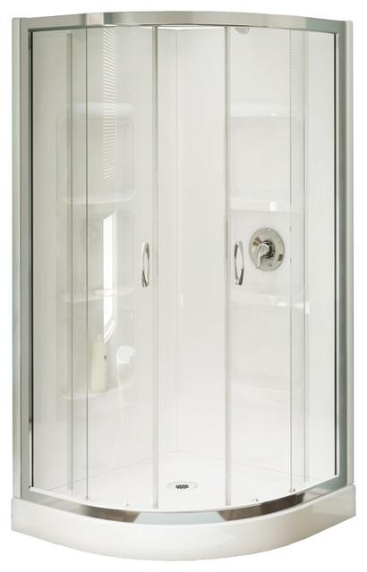 Bath And Shower Stalls38 Neo Round Acrylic Stall