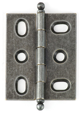 BH2A-IR-BALL solid brass inset cabinet hinge - Traditional - Hinges - philadelphia - by ...