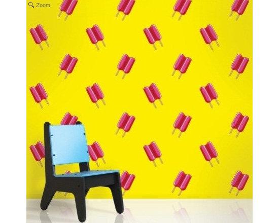 Wallcandy Arts Twin Pops Yellow/Pink - Wallcandy Arts Twin Pops Yellow/Pink