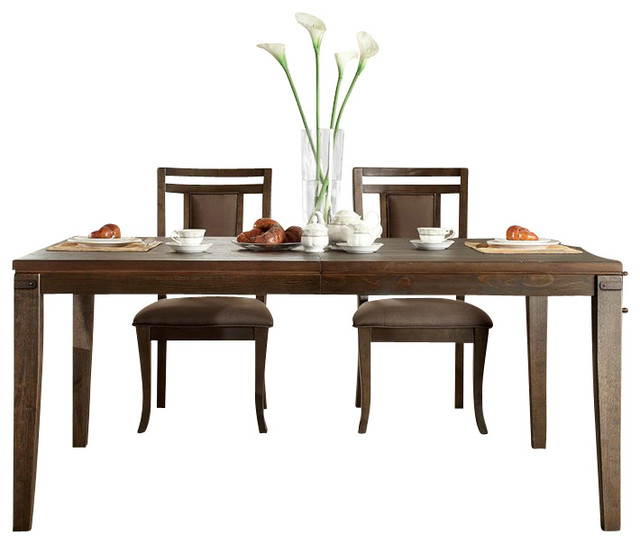 Riverside Furniture Promenade Rectangular Dining Table in  : craftsman dining tables from houzz.com size 640 x 544 jpeg 53kB
