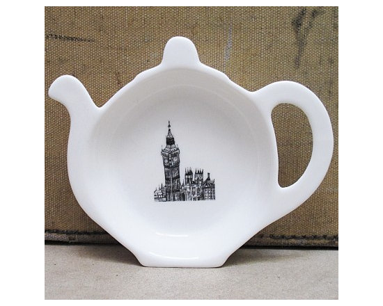 Big Ben London Tea Bag Tidy From Cecily Vessey -