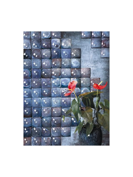 Handcrafted ceramic tile - 4x4 tiles, Available in 9 colors