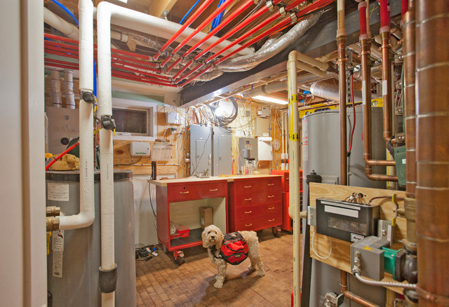 Geothermal Radiant Mechanical Room Whole House