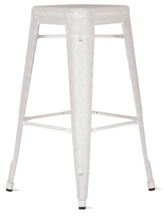 Tolix Marais Barstool, Perforated modern bar stools and counter stools