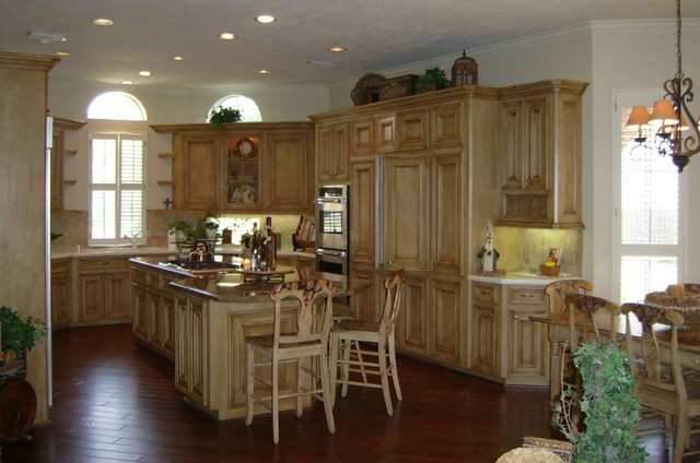 Custom Furniture/Antique refinishing traditional-kitchen-cabinetry